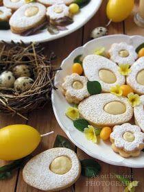 Az otthon ízei: Húsvéti tojáslinzer tojáslikőrös fehér csokoládéval Eggs, Sweets, Breakfast, Food, Morning Coffee, Gummi Candy, Candy, Essen, Egg