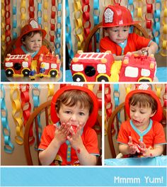 Photography by Michelle: William's Fireman Sam Party!
