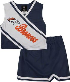 Denver Broncos Toddler 2-Piece Cheerleader Set