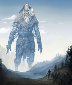 World-building, one image at a time, and fantasy art miscellanea. Dark Fantasy Art, Fantasy Artwork, Sci Fi Fantasy, Fantasy World, Fantasy Monster, Monster Art, Shadow Of The Colossus, Character Art, Character Design