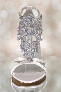 Design Your Own Wedding Shoes Ivory by EllieWrenWeddingShoe Bling Wedding  Shoes