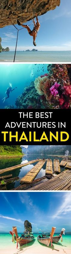 Thailand Travel   Looking for adventurous things to do in Thailand? Check out our guide full of insider tips and awesome advice on the best things to see and do!