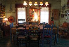 Pozo Hondo Studios; Rancho Milagro near Round Top, Texas.