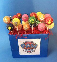 paw patrol party cake balls - Google Search