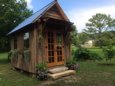 garden shed from recycled materials click the image to enlarge shed pinterest gardens garden ideas and outdoor projects - Garden Sheds From Recycled Materials