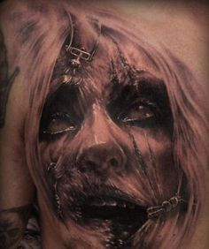 Realistic Zombie Tattoo Designs - https://delicious.com/My_Sick_Tattoos