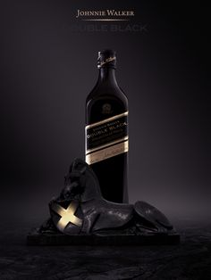Johnnie Walker Double Black by Caglar Ozen, via Behance