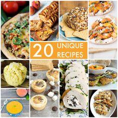 Great Ideas — 20 Unique Recipes!