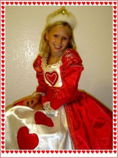 I made this costume for my granddaughter, Beth Ann when she played the Queen of Heartsin Alice in Wonderland,  in a Youth Theater production in Austin, TX. This is the only picture I havenbsp...