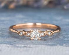 HANDMADE RINGS & BRIDAL SETS by MoissaniteRings on Etsy Bridal Ring Sets, Shop Engagement Rings, Handmade Rings, Gold Rings, Trending Outfits, Unique Jewelry, Rose Gold, Diamond, Gifts