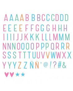 A Little Lovely Company Lightbox Letterset Pastel - Anneke Janneke