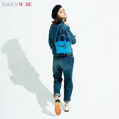 【今日のコーデ/岸本セシル】気分を一新したい木曜日はデニムonデニムにトライ! | ファッション(コーディネート・流行) | DAILY MORE
