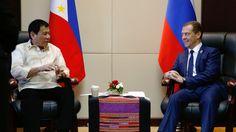 """Los von Washington: Der philippinische Präsident Rodrigo Duterte hat seine Absicht bekräftigt, sein Land vom ehemaligen Kolonialherren, den USA, abzukoppeln und verkündete, dass er im Begriff sei, den """"Point Of No Return"""" zu überschreiten."""