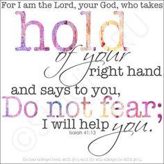 Scripture Art Do Not Fear