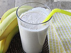 #Peanut #Butter Banana #Chia Smoothie:  No sugar added