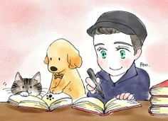 Brian, Cooper, and Mr. Colfer. How sweet.