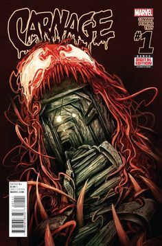Get ready to scream! Carnage, the homicidal symbiote is back, and he's leaving a trail of bodies behind him. The FBI is hot on his trail, with a different playbook since their serial killer is a super