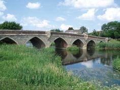 Julians Bridge in Wimborne, Dorset, England - fabulously old