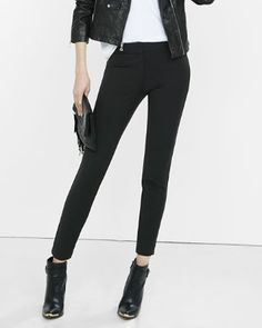 mid-rise extreme stretch skinny pant
