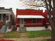 Chuck Berry Home at 3137 Whittier Avenue in the Greater Ville Neighborhood, St. Louis, MO