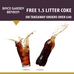 Spice Garden offers delicious Indian Food in Wallingford, Oxford Browse takeaway menu and place your order with ChefOnline. Order Takeaway, Spice Garden, Free Chickens, Food Items, Indian Food Recipes, Opportunity, Spices, Menu, Food Online