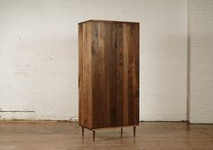 mid century modern armoire — Holy fuck this is so beautiful 😍 so easily transitioned to today Modern Furniture, Modern Woodworking Plans, Modern, Tall Cabinet Storage, Home Decor, Modern Armoire, Burled Wood, Bed Frame Plans, Armoire
