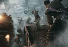 UNHCR: Coal wagon