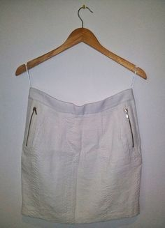 Kup mój przedmiot na #vintedpl http://www.vinted.pl/damska-odziez/spodnice/10201323-biala-spodnica-reserved