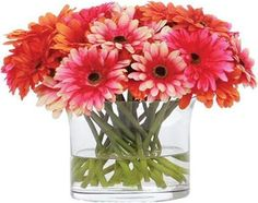 Bring color to your home with our high-end silk floral arrangements for sale. These flower arrangements show grace, sophistication, and style. Faux Flowers, Silk Flowers, Faux Flower Arrangements, Gerbera, Luxury Home Decor, Fabric Online, Daisy, Diy Projects, Crafts