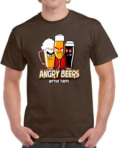 Angry Beers Bitter Taste Angry Birds T Shirt Angry Birds, Bitter, Shirt Style, Drinks, Mens Tops, T Shirt, Stuff To Buy, Drinking, Supreme T Shirt