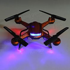 JJRC H12C Headless Mode One Key Return RC Quadcopter With 5MP Camera Sale-Banggood.com