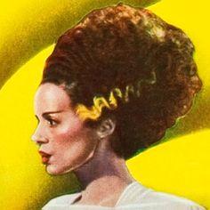 The Bride of Frankenstein Frankenstein Wife, Elsa Lanchester, James Whale, Frankenstein's Monster, Creature Feature, Universal Pictures, He's Beautiful, Old Women, Love Story
