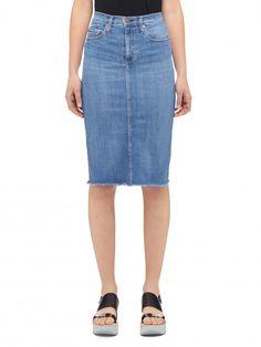 Nobody Denim - Portrait - Cult Longline Pencil Skirt