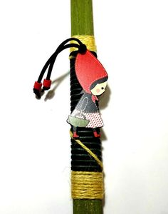Easter candle orthodox easter gift greek easter lambada godmother easter candle orthodox easter gift greek easter lambada godmother godfathers gift red riding hood pendant handmade negle Gallery