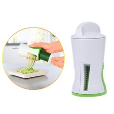 Mini Handheld Vegetable Spiralizer Spiral Cutter Graters Carrot Cucumis Slicer Spaghetti Pasta Kitchen Cookwares cozinha. Yesterday's price: US $4.33 (3.58 EUR). Today's price: US $2.94 (2.42 EUR). Discount: 32%.