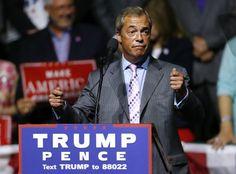 Donald Trump Says 'Many' Want Nigel Farage as UK Ambassador
