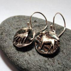 Earrings Horses – Unio Goldsmith Equestrian Jewelry, Horses, Jewellery, Drop Earrings, Sterling Silver, Personalized Items, Bracelets, Gold, Jewels