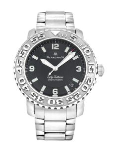Check out the bezel on this Blancpain Fifty Fathoms 2200-1130-71, crazy!