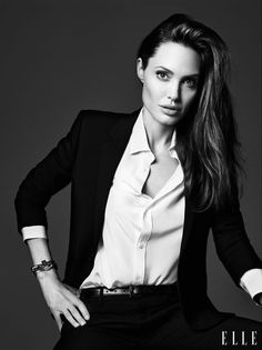 Angelina Jolie Poses in ELLEs June Issue, Says She Never Thought Shed Have Kids