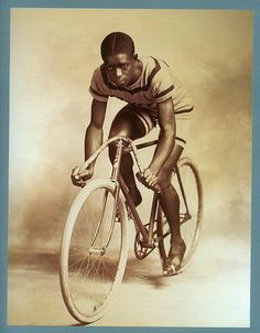 Cycling legend Major Taylor