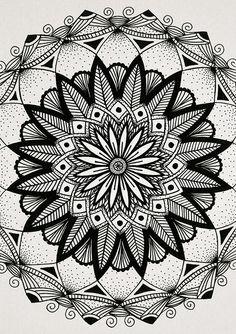 Mandalas | Zendalas - Dindondesigns