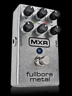 MXR Fullbore Metal Distortion Pedal No. M116