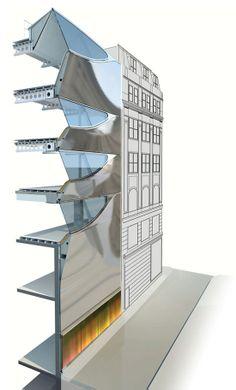 amanda levete architects: 10 hills place - designboom   architecture & design magazine