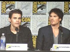Ian & Paul at Comic Con 23/7/16