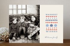 Warmest Wishes Holiday Photo Cards by Frooted Design at minted.com