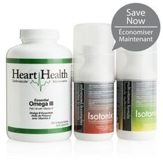 Contains: Isotonix Multivitamin servings); Isotonix Advanced B-Complex servings); and Heart Health Essential Omega III Fish Oil with Vitamin E servings) Vitamin B Complex, Heart Health, Pills, Vitamins, Wellness, Weight Loss, Personal Care, Kit, Website