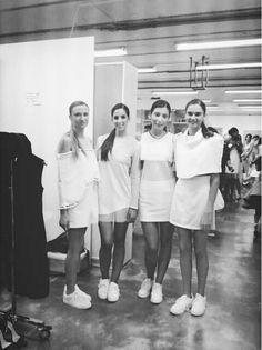 Agencia - Escuela Martina Models. España.  Backstage. Escuela superior de diseño La Rioja.