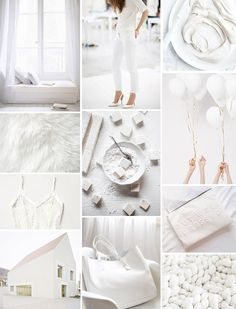 Make the most of everything WHITE until summer's end:   From Camille Styles --Monochromatic Monday ::  White Out