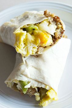 Start your day the right way with Low Carb Breakfast Burritos with Sausage and Peppers. They're tasty, filling and super quick to make.