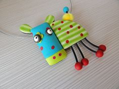 Pendant Cow by Klickart on Etsy